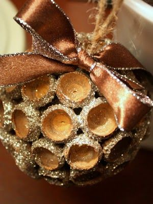 Acorn Christmas Ornament
